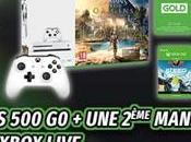 Plan Console Xbox jeux 2ème manette Gold 249.99€