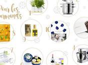 Noël 2017 idées cadeaux food wine