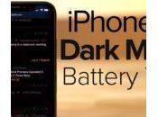 iPhone autonomie accrue avec mode Dark
