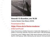 """""""VOLPI"""" Bernard Poulet. Conférence l'Alliance Française Venise"""