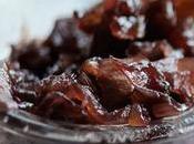 Chutney d'oignons rouges pommes