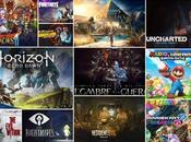 jeux vidéos joués 2017