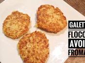 Galettes flocons d'avoine fromage