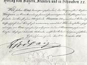 Louis décore Richard Wagner l'ordre Maximilien Verleihung Maximilians-Orden