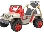 Jurassic Park lancement d'une Jeep électrique pour enfants