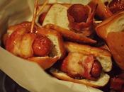 Mini dogs bacon, sauce Pomme Érable