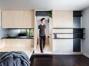 micro appartement années 1950 rénové totalement repensé