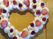 Coeur cake number pour saint valentin
