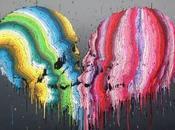 Peinture dégoulinante Brusk