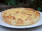 Quiche pommes terre fromage raclette