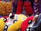 Danse lion Nouvel chinois 2018