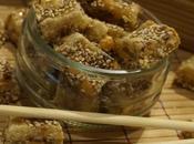 Nougat chinois cacahuètes graines sésames 🎎🎏🎌🎐🏮🎊