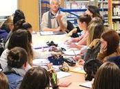 Jean-Philippe Chabrillangeas sous regard lycéens