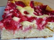 Moelleux fromage blanc fraises