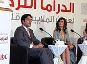 feuilletons, têtes Turcs médias saoudiens