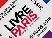 Salon Livre Paris tient mars 2018 Porte Versailles