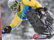 sportifs brillé Jeux Paralympiques d'hiver