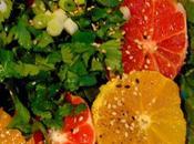Salade d'orange pamplemousse