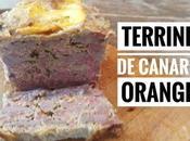 Terrine canard l'orange
