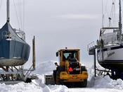 pêcheurs crabes préparent...