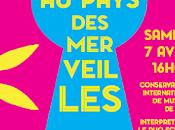 """""""Alice Pays Merveilles"""" avec Pochette Musicale"""
