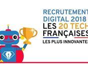 Recrutement digital 2018 tech françaises plus innovantes