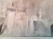 Neuschwanstein dessiné Ferdinand 1898