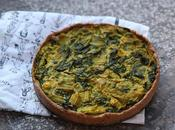 Quiche blettes curry