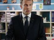Emmanuel Macron, président premiers classe