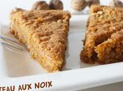 Gâteau noix (consistance brownie)