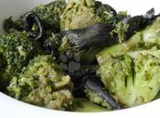 Poêlée brocolis-champignons