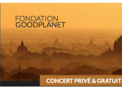 Fondation GoodPlanet heureuse d'accueillir Calogero concert privé juin gratuit