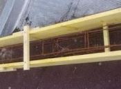 Première étape l'installation panneaux photovoltaïque, création d'une toiture