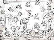 Choix mise scène, pour l'illustration Tipeee juin.