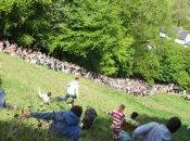 Coopers Hill Cheese Rolling Wake course fromage
