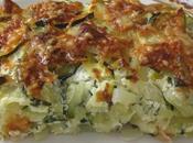 gratin courgettes/pommes terre/ricotta