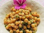 Salade Pois chiches (Vegan)