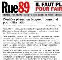 liberté d'expression blogs Limoges encore faire tribunaux