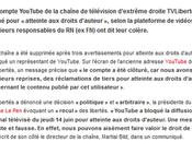 #TVL #Youtube fermé Comme suis pas) triste…