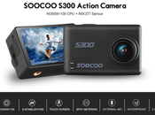 Test complet SOOCOO PLUS S300 action avec MICROPHONE EXTERNE