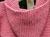 Paletot capuche pour bébé facile tricoter