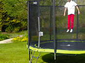 trampoline Kangui dans jardin pour l'été [Sponso]