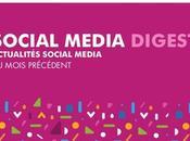 Social Media Digest Juillet retour actualités réseaux sociaux