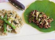 sauté pois Capucine salade lentilles (Vegan)
