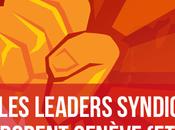 leaders syndicaux français adorent Genève salaires)