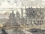 Herrenchiemsee 1880: château construction, usine train vapeur