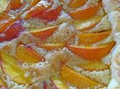 Tarte amandine nectarines