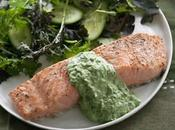saumon sauce verte avec thermomix
