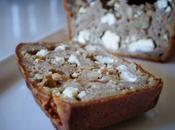 Cake salé chèvre raisins