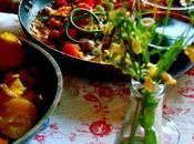 Escalopes poêle avec sauce petits fruits frauxmage